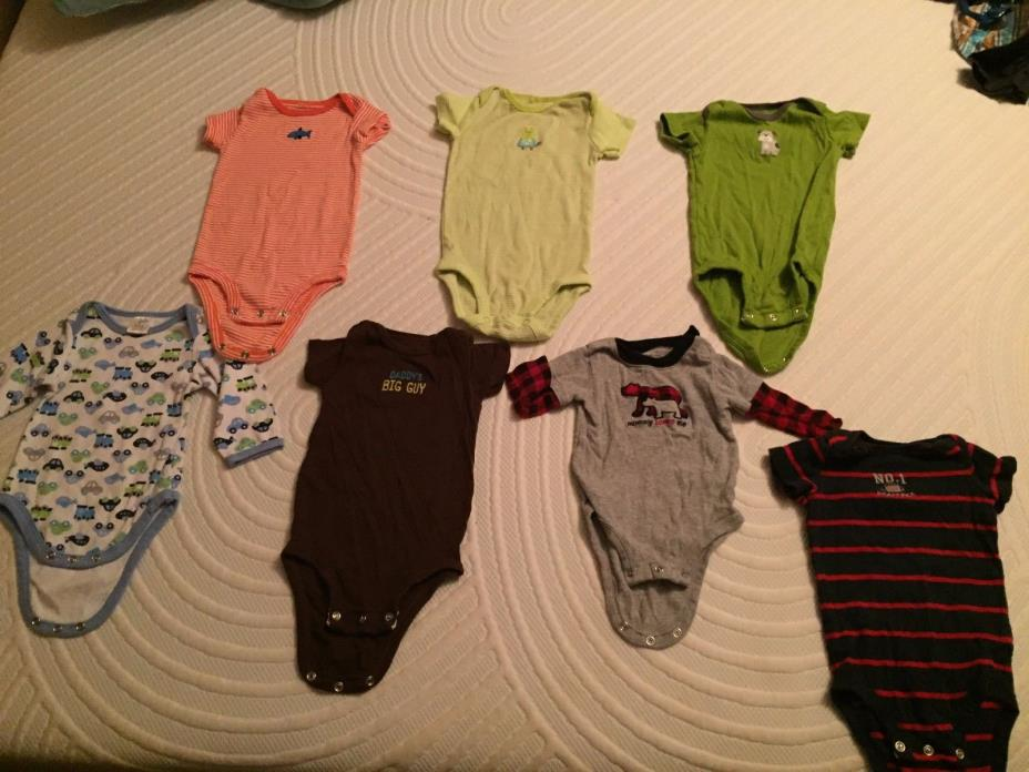 3-9mo BOY's Clothing Lot: ~200 items, Name BRAND, A COMPLETE WARDROBE!
