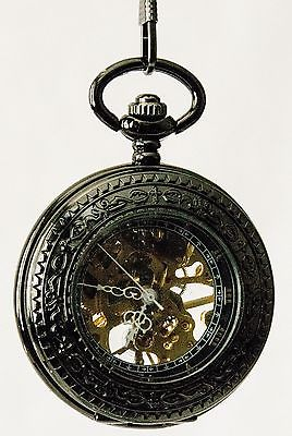 Mechanical Pocket Watch Steampunk Skeleton - Free Shipping!