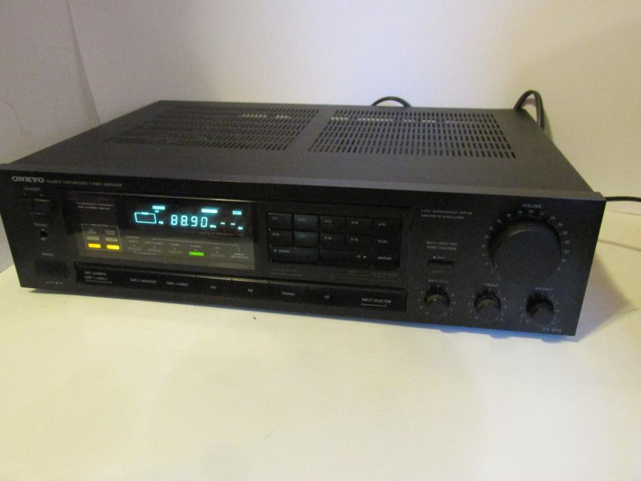 Onkyo TX-810 Stereo Tuner Amplifier Receiver Classic Hi Fi,Tested Works! w/Phono