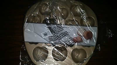 Williams Sonoma Nordic Ware Apple Cakelet Cake Pan Mold NEW