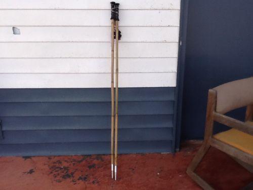 Soul Pole Ski Poles Natural Bamboo 54