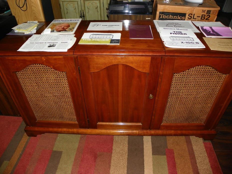 Vintage The Fisher Tube Stereo Console
