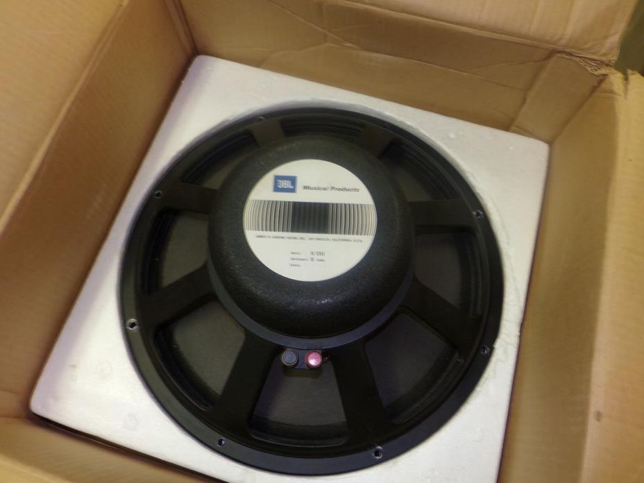 JBL K130 15inch Guitar Speaker in original JBL box 8 ohms, NOS