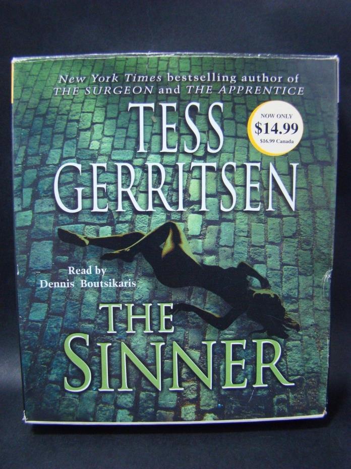 The Sinner Audio Book by Tess Gerritsen 5 CD 6Hrs Abridged