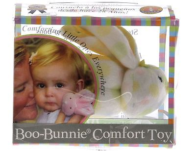 Stephan Baby Boo Bunnie Comfort Toy and Boo Cube, Multi Dot - NEW!