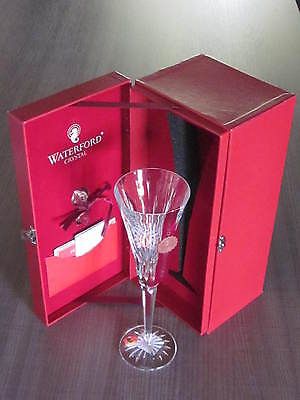 Waterford Crystal 12 DAYS OF CHRISTMAS FLUTE 5th Ed. Five Golden Rings-Maureen