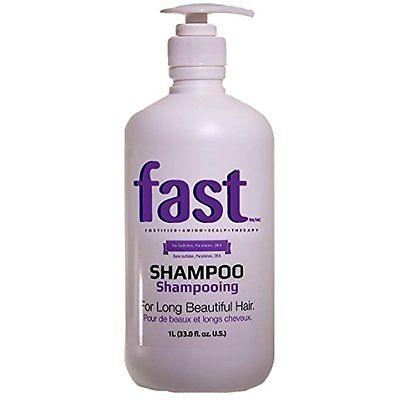 FAST- Daily Shampoo Shampoo for longer hair growth 33oz No Sulfates, Parabens,