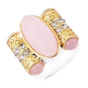 Rose Quartz Beautiful Ring