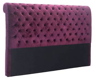 Sergio King Headboard in Wine [ID 3503736]