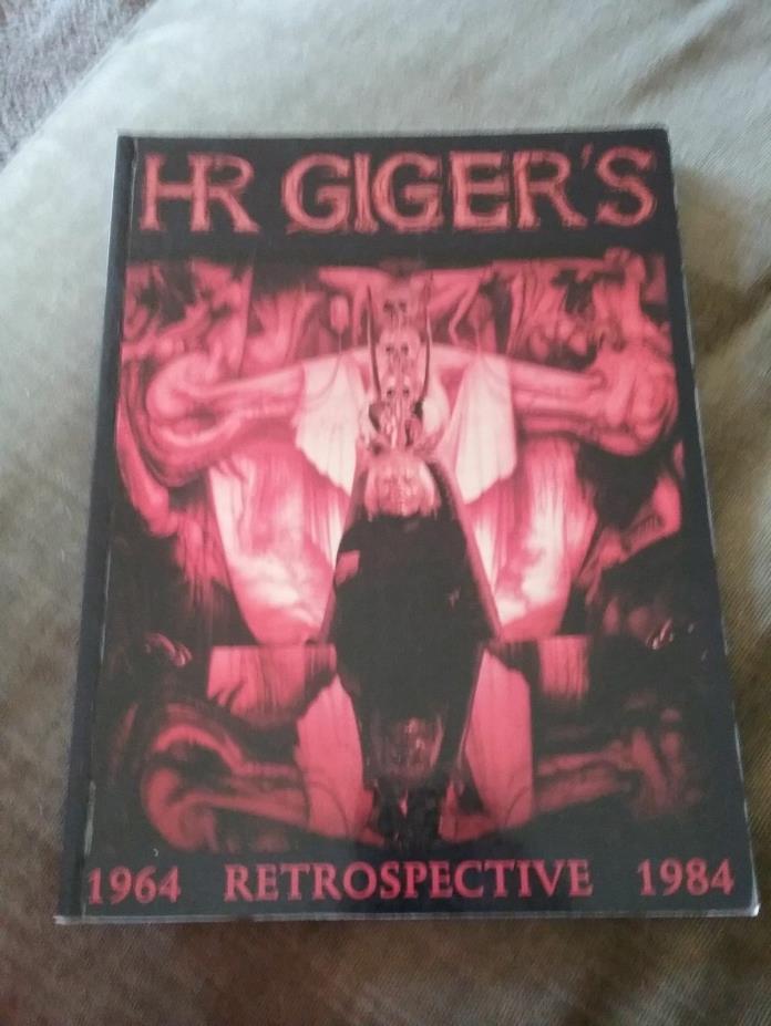 HR Gigger's Retrospective 1964-1984 1997 1st English Edition