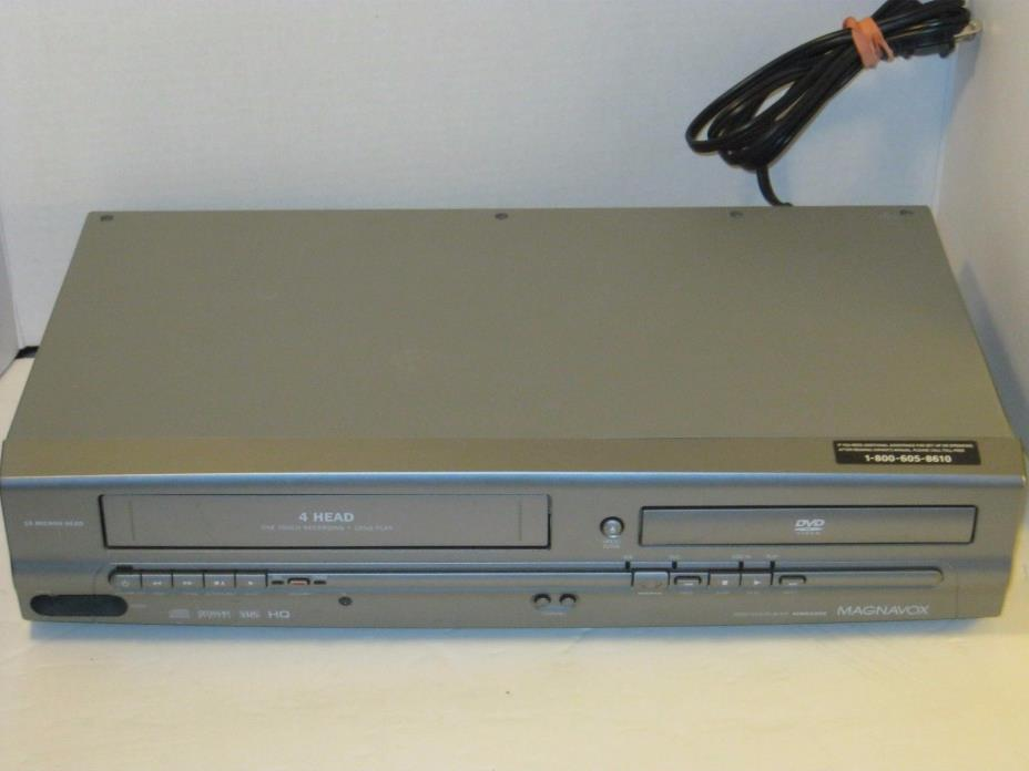 Magnavox MWD2205 DVD/VCR VHS Combo Player Recorder