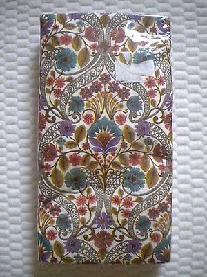 16 Count 3 ply Special Occasion Paper GUEST Towels ~ Napkins KALANTHE PATTERN