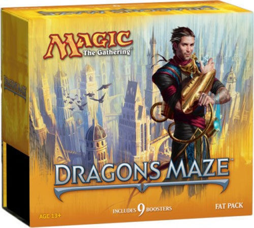 Magic the Gathering MTG Dragon's Maze Fat Pack Factory Sealed