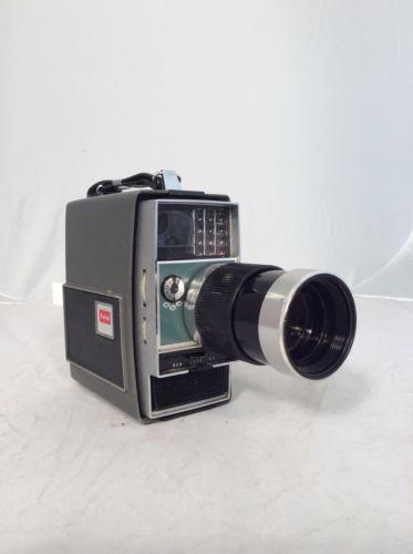 Vintage Kodak Electric 8 Zoom Camera