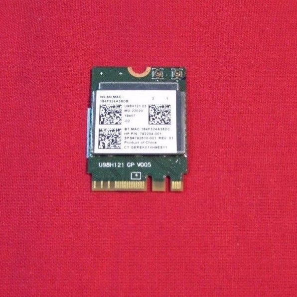 HP NOTEBOOK 15-AC163NR BLUETOOTH / WIFI WLAN ADAPTER  792204 792610-005