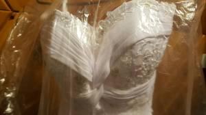 beach style wedding dress (isanti)