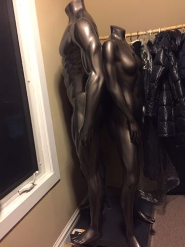 Nike Sport Headless  Full Height Male Mannequin Removable Arms Without Pedestal