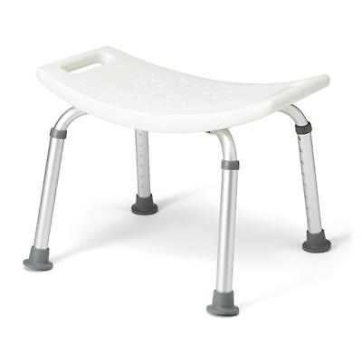 Aluminum Bath Benches without Back,White