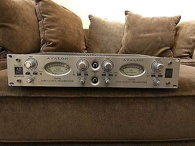 Avalon AD2022 2 Channel Microphone Amplifier