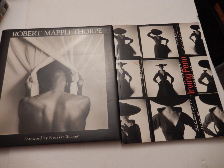 Irving Penn: A Career in Photography / Robert Mapplethorpe Back Book