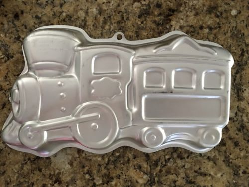 Wilton Cake Pan Mold Choo Choo Train used once