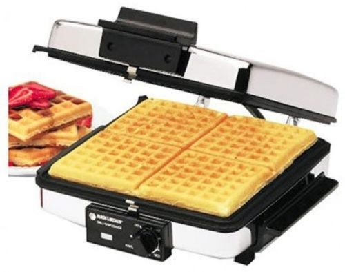 Grilled Sandwich Maker Press Cheese Toaster Breakfast Waffle Removable Plates