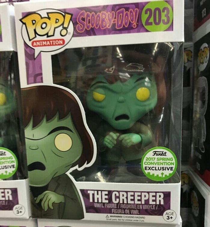 Funko Pop! Animation Scooby Doo The Creeper 2017 Spring Convention Exclusive