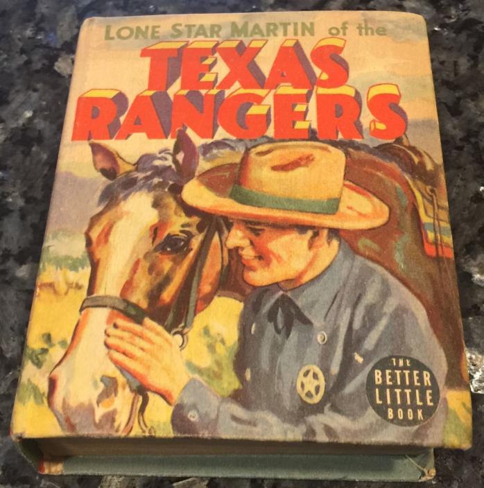 Lone Star Martin of the Texas Rangers #1405 BLB Big Little Book Better, 1939, VF