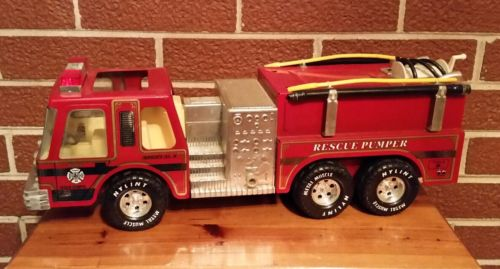 Vintage Early 1990s Nylint Fire Dept. Engine Co. 5 Rescue Pumper Firetruck