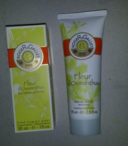 Roger & Gallet Fleur d' Osmanthus 1 oz Fragrant Water Natural Spray/ Shower