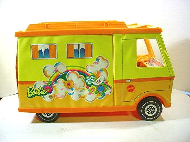 VINTAGE MATTEL BARBIE COUNTRY CAMPER W/ BOX