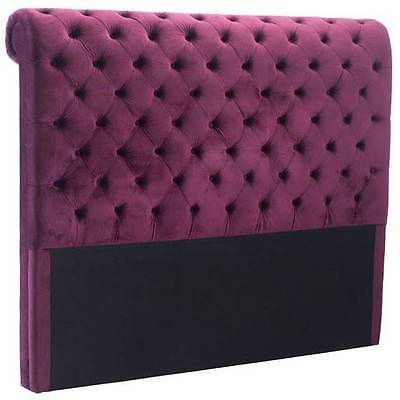 Sergio Queen Headboard in Wine [ID 3503737]