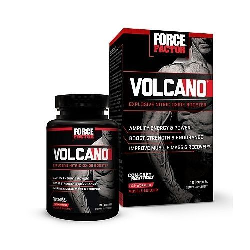Force Factor - VolcaNO - 120 CT - Sealed EXP 6/2018