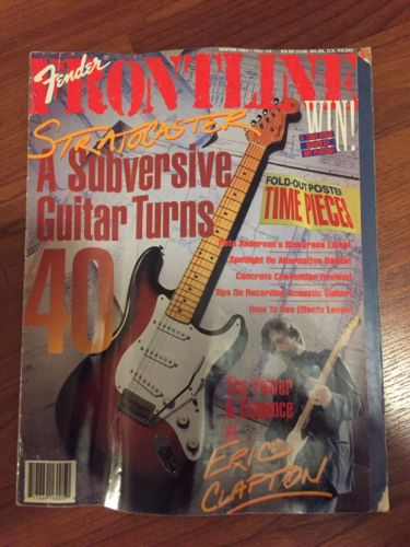 Fender Frontline Magazine Stratocaster Turns 40 Collectible 1994