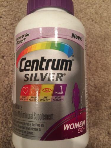 Centrum Silver Multivitamin Multimineral Supplement  for WOMEN 50+, 250 Tablets
