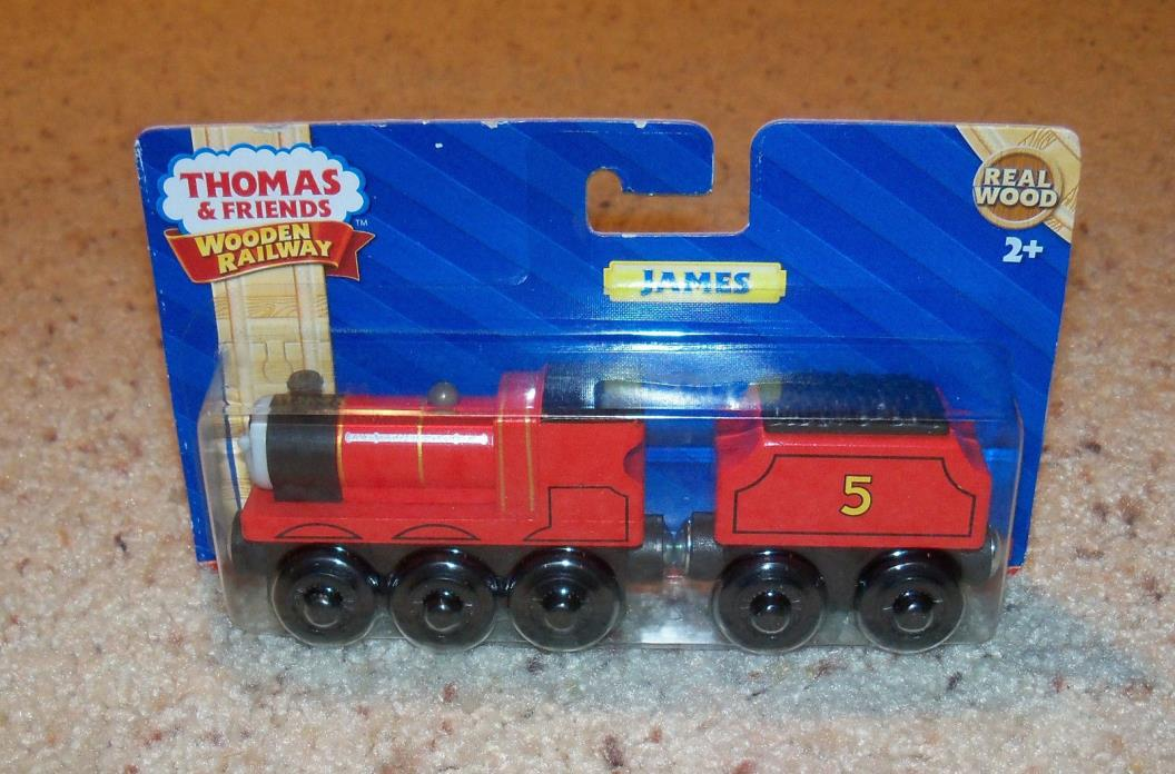 New In Box NIB Thomas Train Wood, Wooden Car, James Set