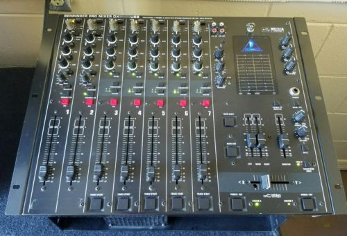 BEHRINGER PRO DJ MIXER DX2000USB 7-Channel with Audio Interface + Warranty