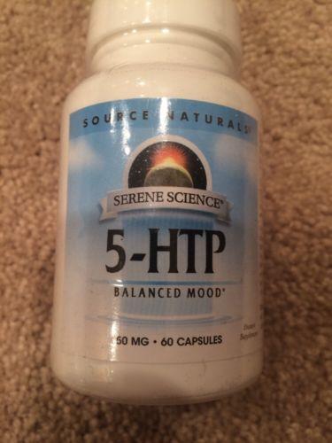 Source Naturals 5-HTP 50mg 60 capsules