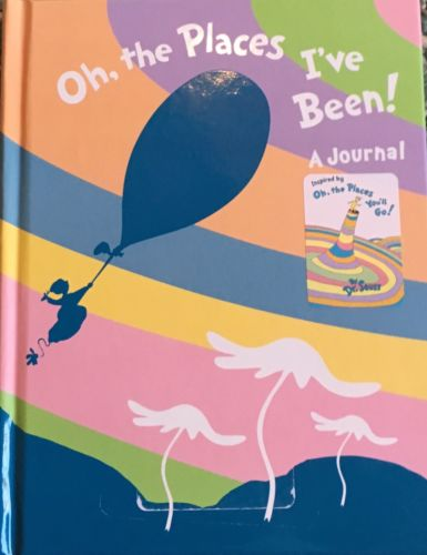 New Dr. Seuss Journal, Places I've Been Diary