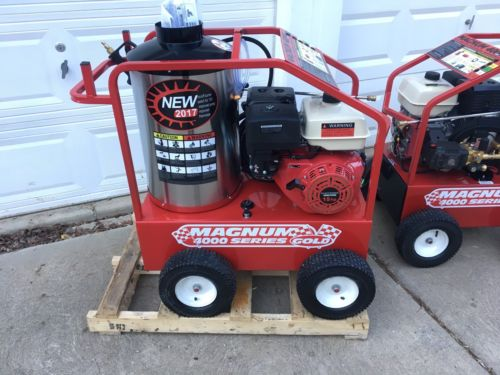 2017 Easy-Kleen Magnum 4000 Series Hot Water Pressure Washer Diesel Burner - NEW