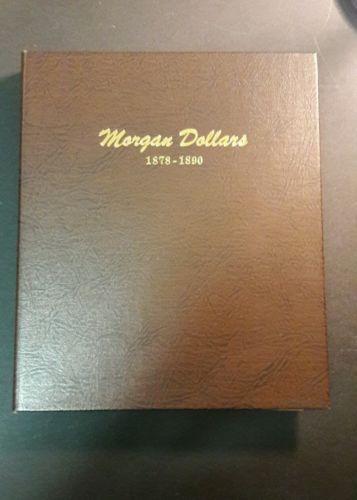 Dansco Morgan Dollar Album (1878-1890)