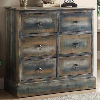 ACME Furniture Glancio 6 Drawer Accent Chest