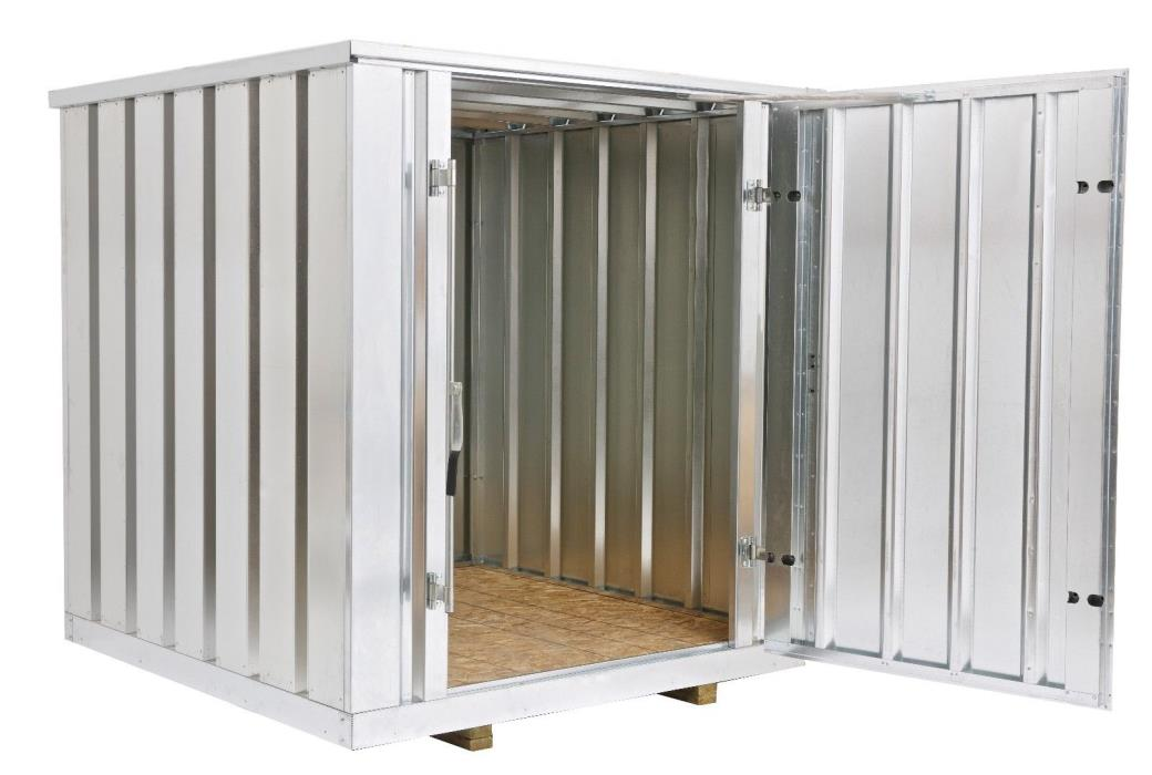 Galvanized Steel Storage Shed (Container), 81