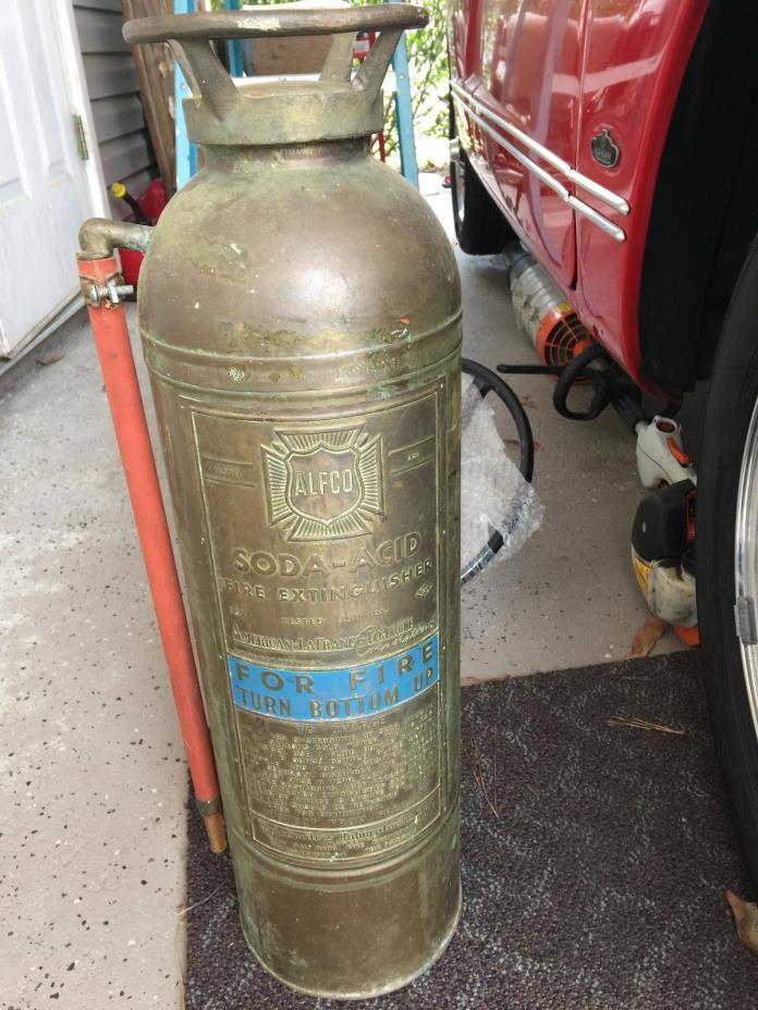 ALFCO  soda acid fire extinguisher