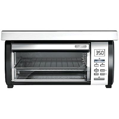 Black & Decker 4 Slice Toaster Oven with Under-The-Cabinet Spacemaker Design