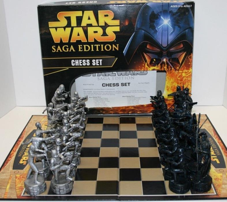 Star Wars Saga Edition Complete Chess Set