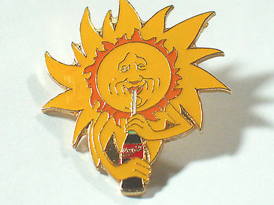 Coca Cola  Sun Pin  , Coca Cola Bottle Pin   (Item # Coca Cola)