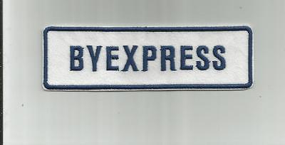 VINTAGE BYEXPRESS LOGISTICS TRUCKING COMPANY TRUCK DRIVER PATCH OTTAWA CANADA