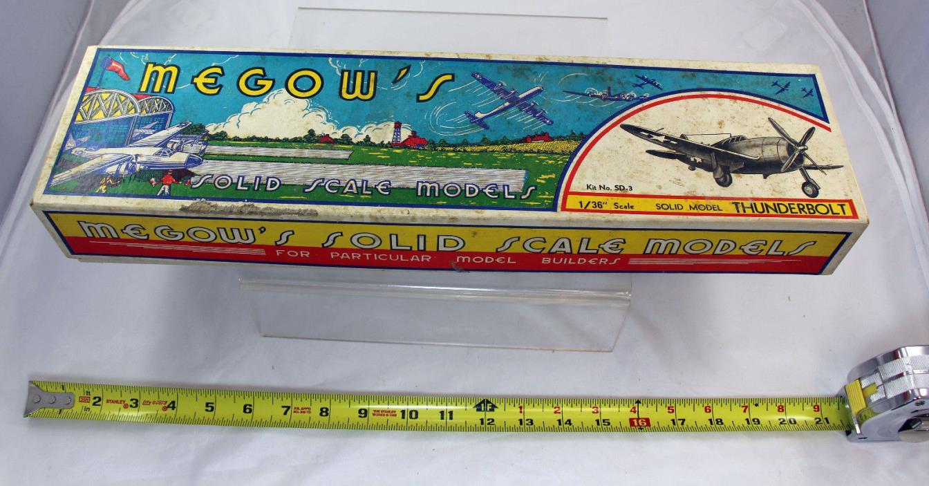 Megow Thunderbolt  Balsa  airplane