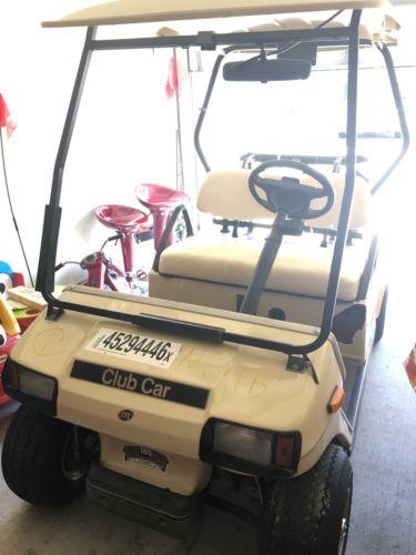 club car golf cart 2003